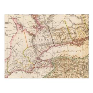 Upper Canada, NY, Penn, Mich Postcard