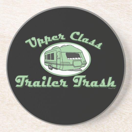 Upper Class Trailer Trash Drink Coaster