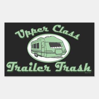 Upper Class Trailer Trash stickers