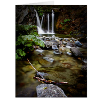 Upper Crystal Creek Falls Card