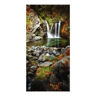 Upper Crystal Creek Falls Photo Card Template