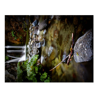 Upper Crystal Creek Falls Post Card