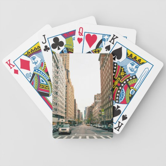Upper East Side Bicycle Playing Cards