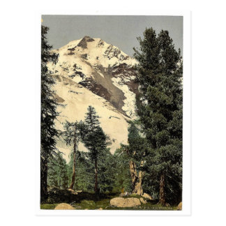 Upper Engadine, Bernina, Grisons, Switzerland clas Post Card