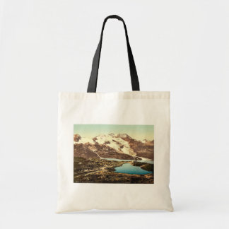 Upper Engadine, Bernina Hospice and Cambrena Glaci Tote Bag