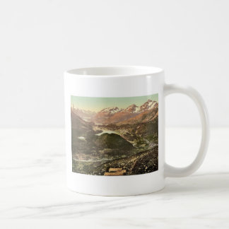 Upper Engadine, general view, Grisons, Switzerland Mugs