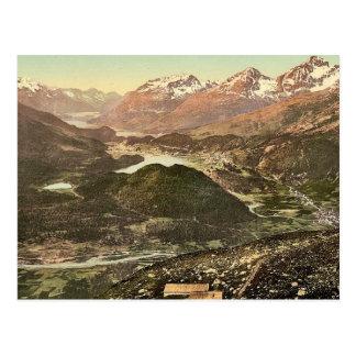 Upper Engadine, general view, Grisons, Switzerland Postcards