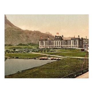 Upper Engadine, Kursaal Hotel, Grisons, Switzerlan Postcard