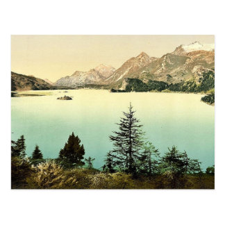 Upper Engadine, Lake Sils, Grisons, Switzerland cl Post Card