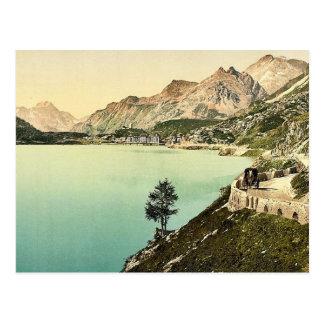 Upper Engadine, Maloja, Grisons, Switzerland class Postcard