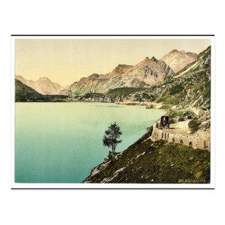 Upper Engadine, Maloja, Grisons, Switzerland class Post Cards