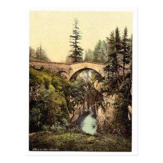 Upper Engadine, Ota Bridge, Grisons, Switzerland c Post Cards