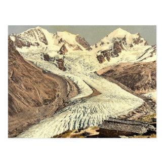 Upper Engadine, Roseg Glacier and Alp Ota, Grisons Post Card
