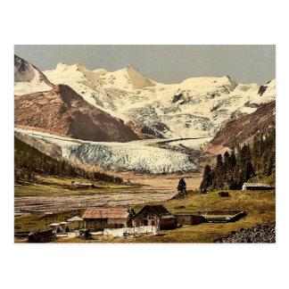 Upper Engadine, Roseg Glacier and Hotel, Grisons, Post Cards