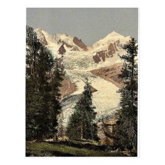 Upper Engadine, Roseg Glacier, Grisons, Switzerlan Postcard