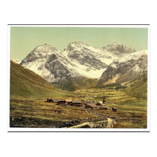 Upper Engadine, Sertigthal, Grisons, Switzerland c Post Card