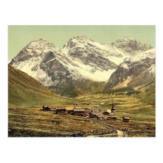 Upper Engadine, Sertigthal, Grisons, Switzerland c Postcards