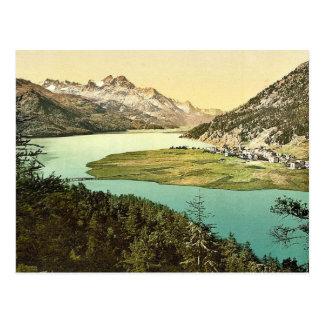 Upper Engadine, Silvaplana, III., Grisons, Switzer Postcard