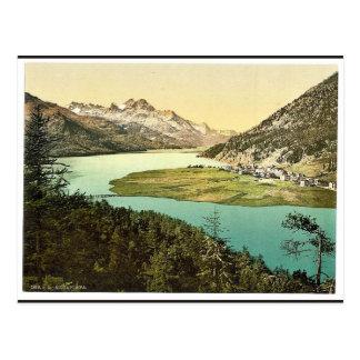 Upper Engadine, Silvaplana, III., Grisons, Switzer Post Cards