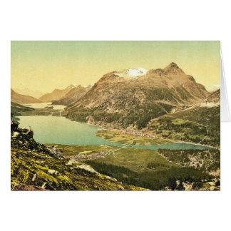 Upper Engadine, Silvaplana, IV., Grisons, Switzerl Greeting Cards
