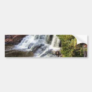Upper Falls at Gooseberry Bumper Sticker