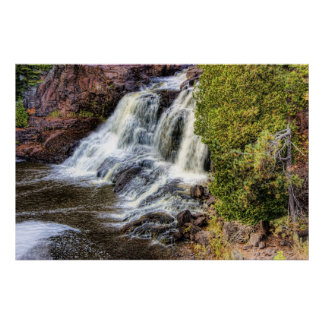 Upper Falls at Gooseberry Print