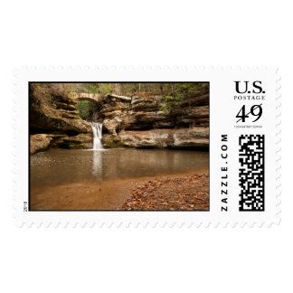 Upper Falls Hocking Hills Waterfall US Postage