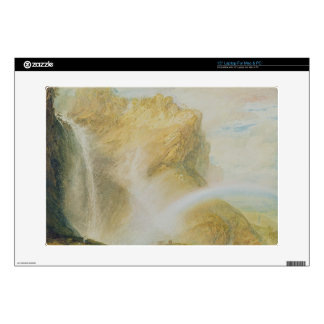 Upper Falls of the Reichenbach (w/c on paper) Laptop Skin