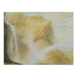 Upper Falls of the Reichenbach (w/c on paper) Postcard