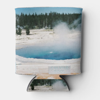 Upper Geyser Basin Crested Pool Yellowstone Can Cooler