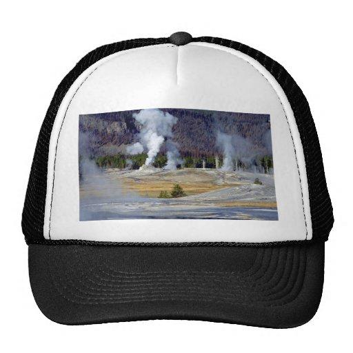 Upper Geyser Basin, Yellowstone National Park, U.S Hats