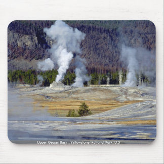 Upper Geyser Basin, Yellowstone National Park, U.S Mouse Pad