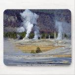 Upper Geyser Basin, Yellowstone National Park, U.S Mousepads