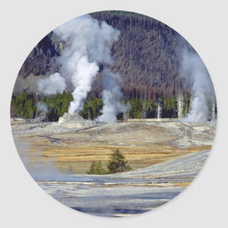 Upper Geyser Basin, Yellowstone National Park, U.S Stickers