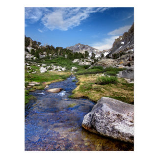 Upper Kearsarge Lake - Sierra Nevada Postcard