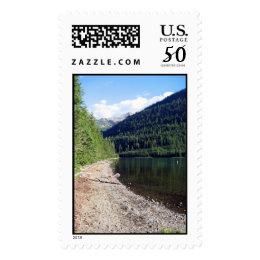 Upper Kintla Lake Glacier National Park Postage