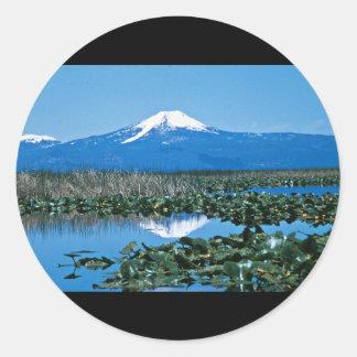 Upper Klamath National Wildlife Refuge Classic Round Sticker