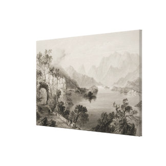 Upper Lake at Killarney, County Killarney, Canvas Print