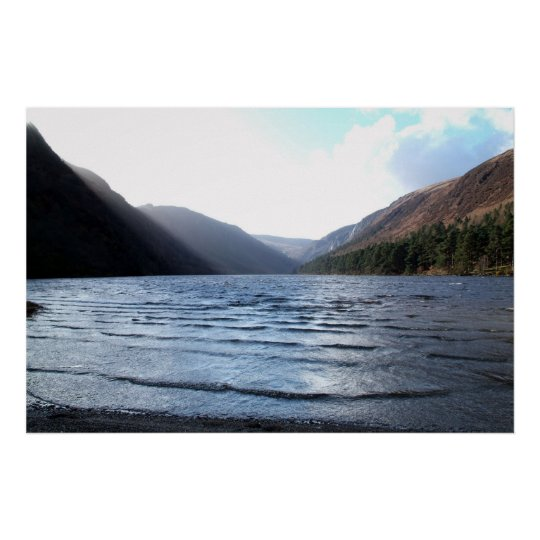 Upper Lake, Glendalough, Ireland Poster