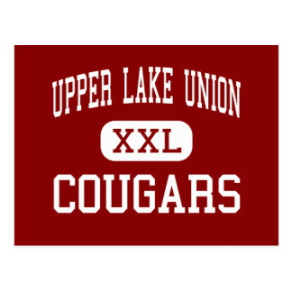 Upper Lake Union - Cougars - High - Upper Lake Postcard