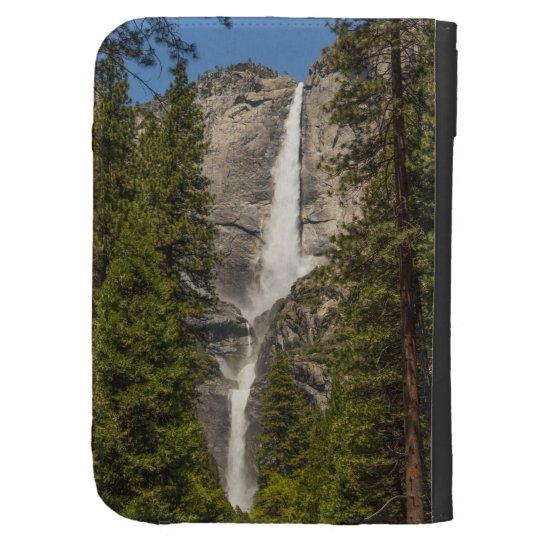 upper  Lower Yosemite Falls Ansel Adams like Kindle 3 Case
