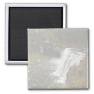 Upper Mesa Falls 2 Inch Square Magnet