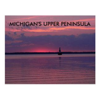 Upper Michigan Sunrise Postcard
