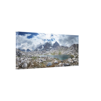 Upper Nydiver Lake Under Mt Ritter - Sierra Canvas Print