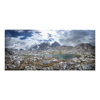 Upper Nydiver Lake Under Mt Ritter - Sierra Photo Print