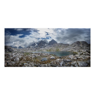 Upper Nydiver Lake Under Mt Ritter - Sierra Poster