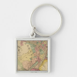 Upper Ohio River and Valley 10 Keychain