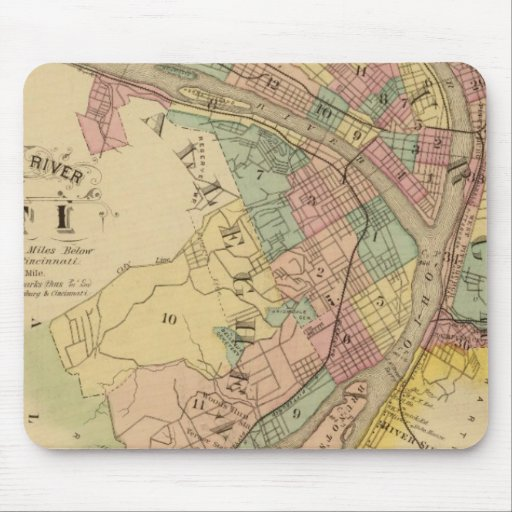 Upper Ohio River and Valley 10 Mousepads