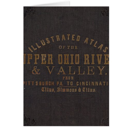 Upper Ohio River and Valley 11 Greeting Card