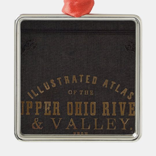 Upper Ohio River and Valley 11 Metal Ornament